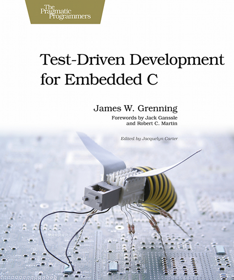 My Book – TDD for Embedded C
